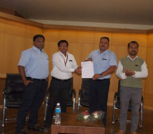 MOU with Piaggio Vehicles Pvt. Ltd